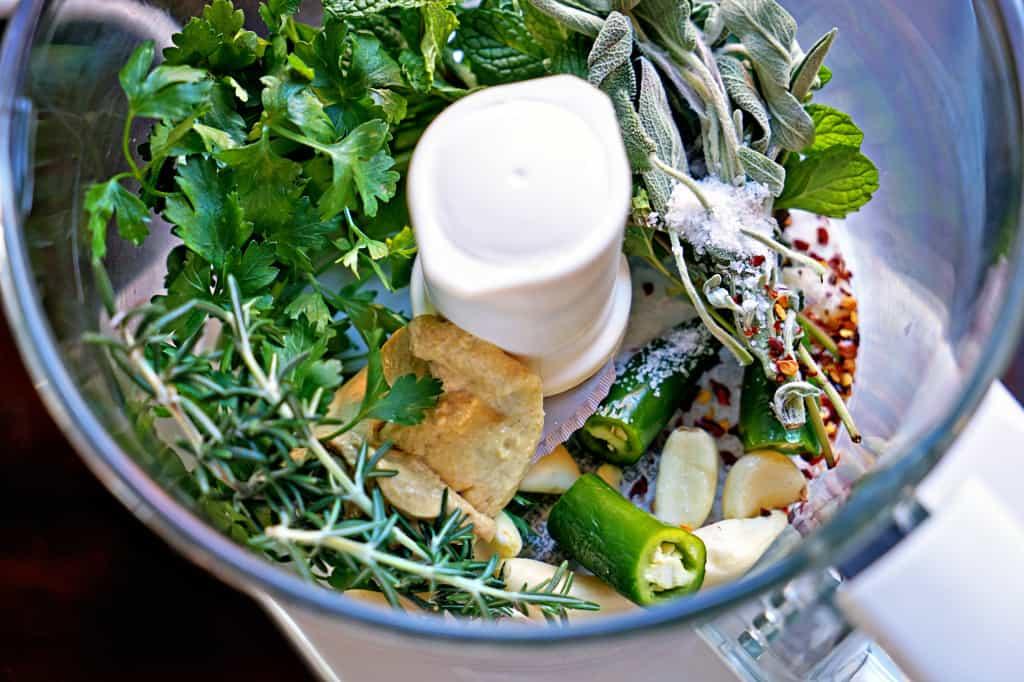 lemon herb paste ingredients