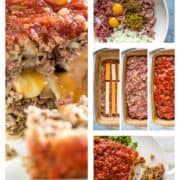 step photos how to make Mexican meatloaf