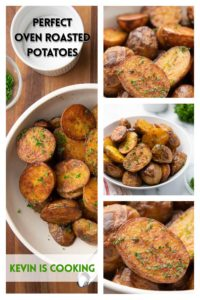 photos of oven roasted potatoes