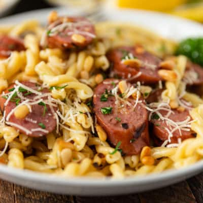 Smoked Sausage and Browned Butter Pasta