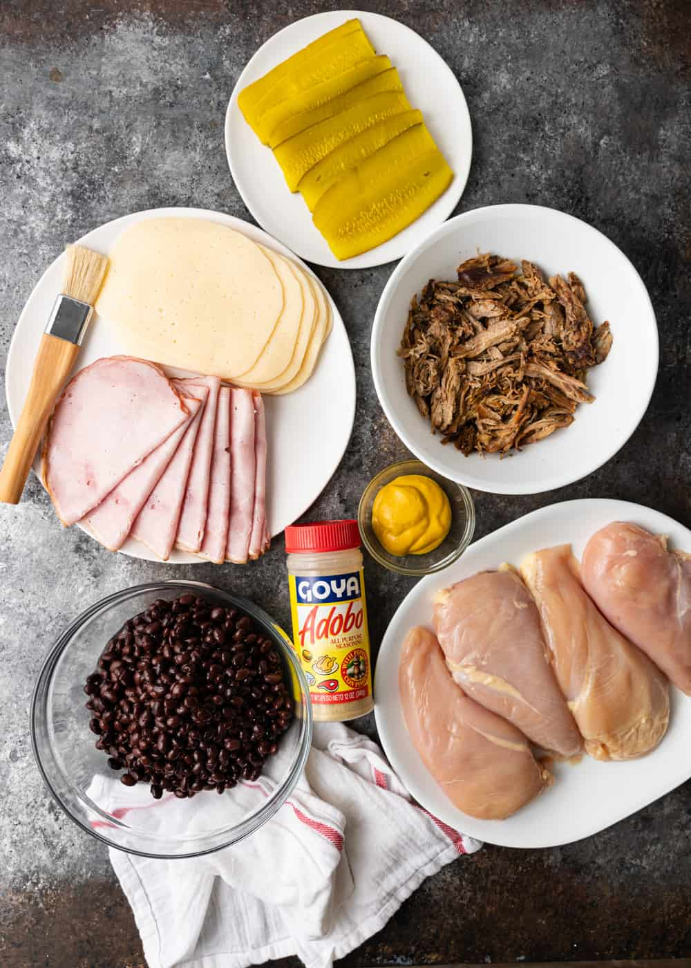 ingredients to make baked chicken carbano