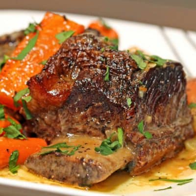 Beef Short Ribs Recipe (Braised)