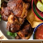 authentic Mexican carnitas with sides
