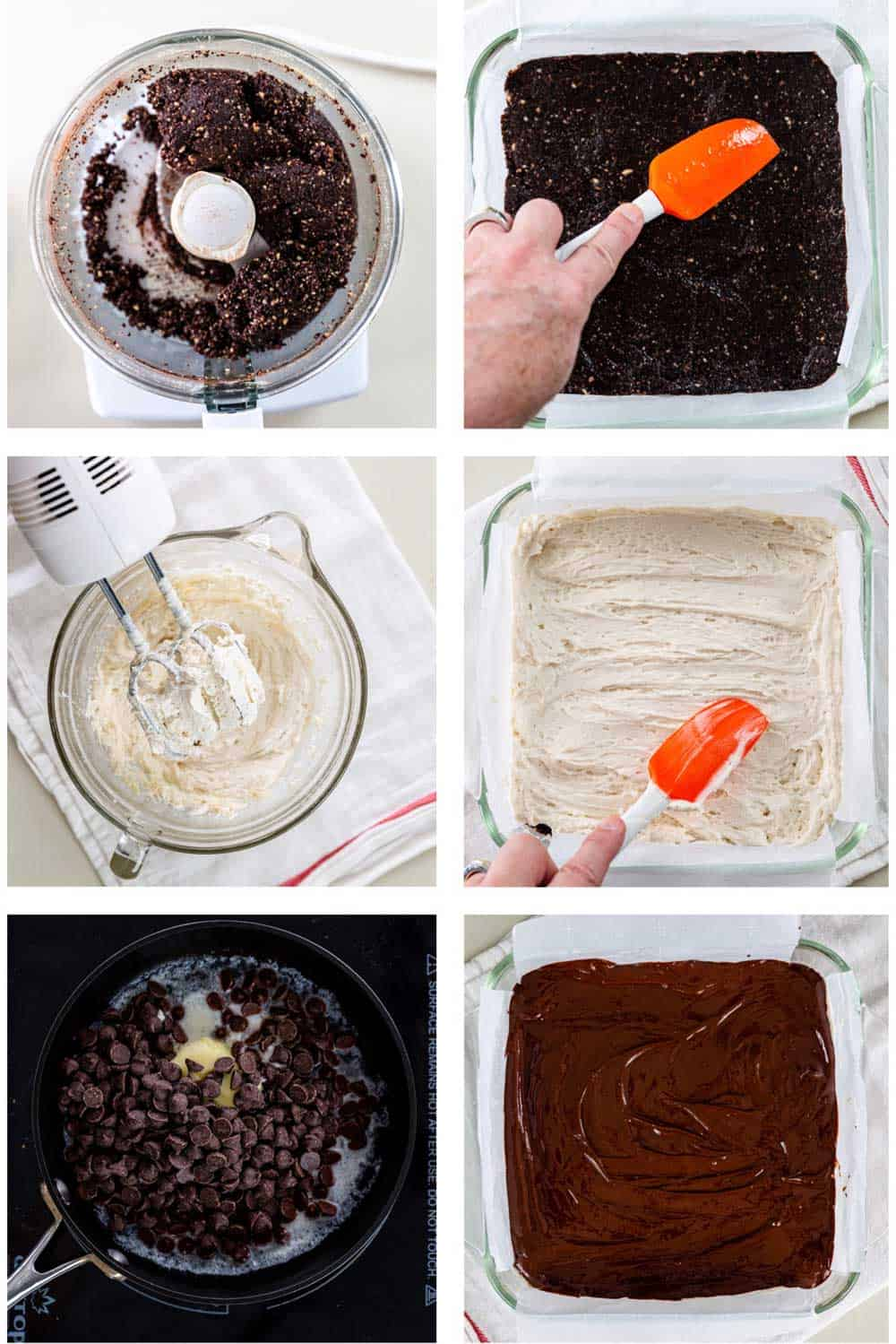 step by step photos for making nanaimo bar recipe