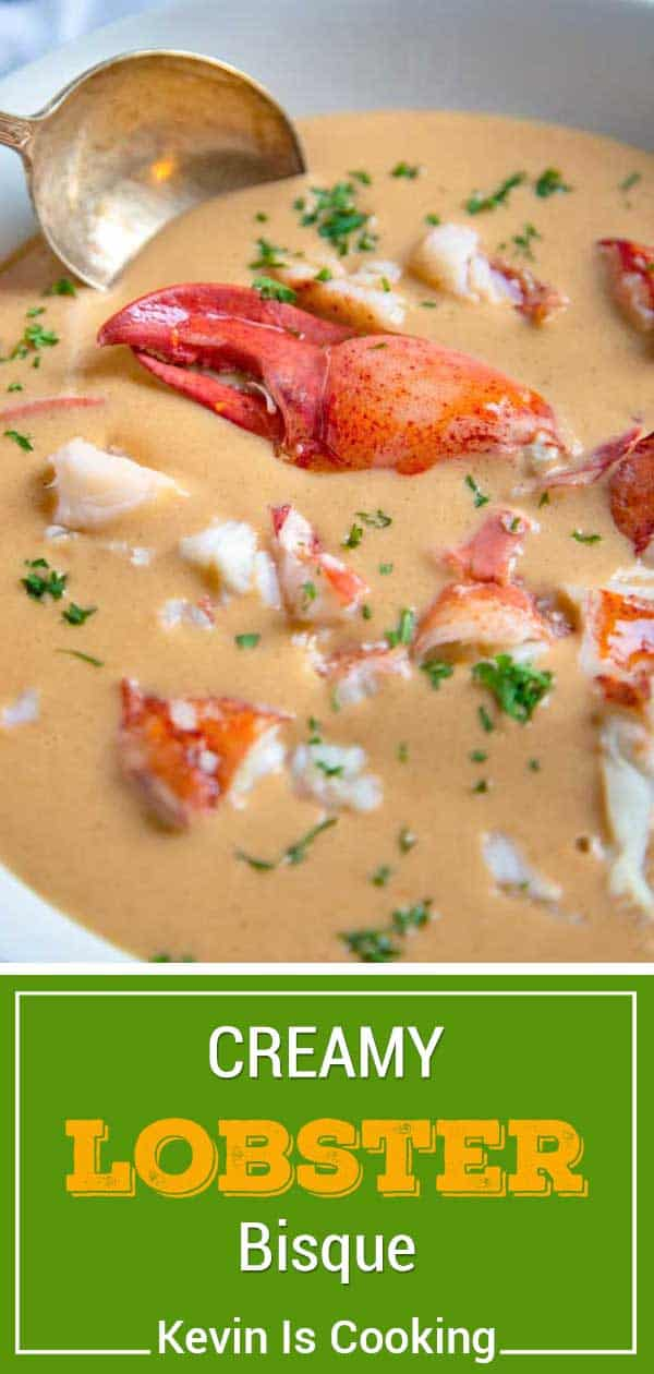 Lobster Bisque Recipe With Stock From Shells Kevin Is Cooking