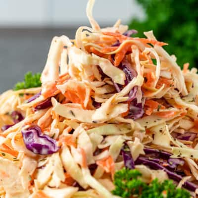 Peachy Southern Coleslaw