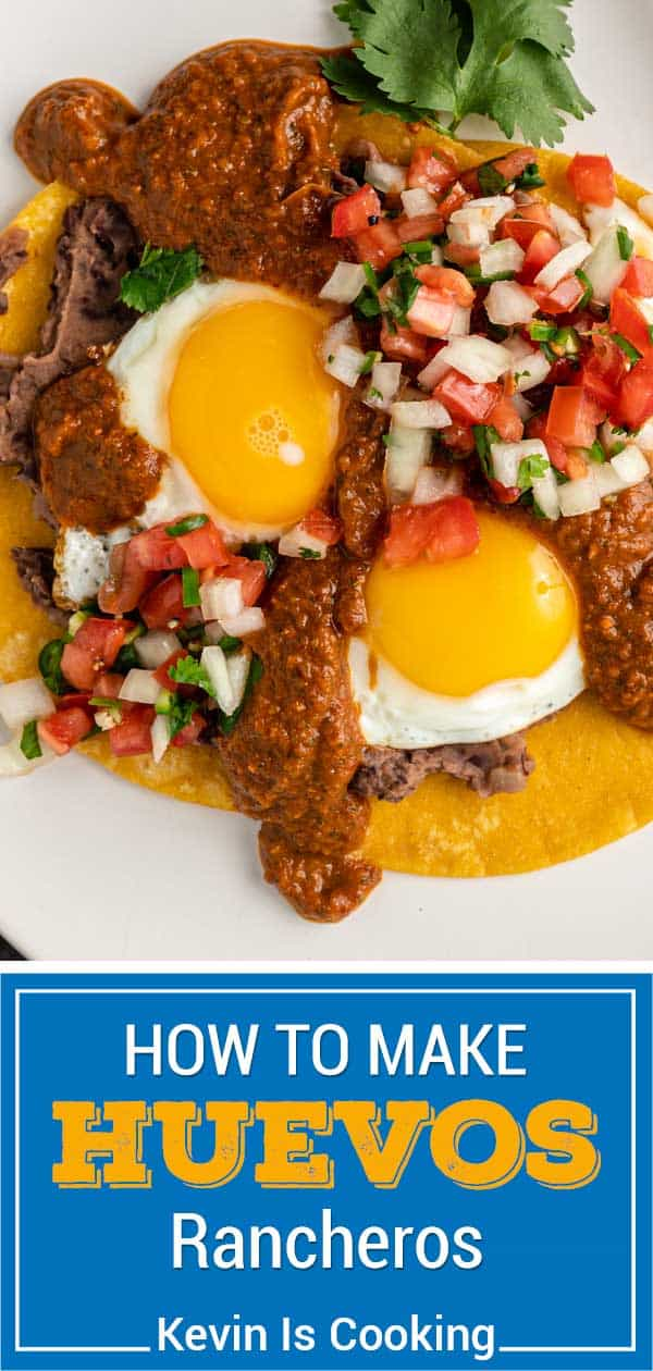 titled image for Pinterest (and shown): How to Make Huevos Rancheros