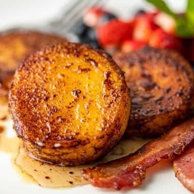 Polenta Cakes (Mexican Breakfast Recipe)