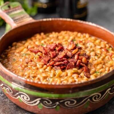 Borracho Beans (Frijoles Borrachos)