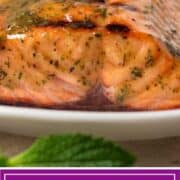 titled image shows closeup of cooked wild sockeye salmon filet