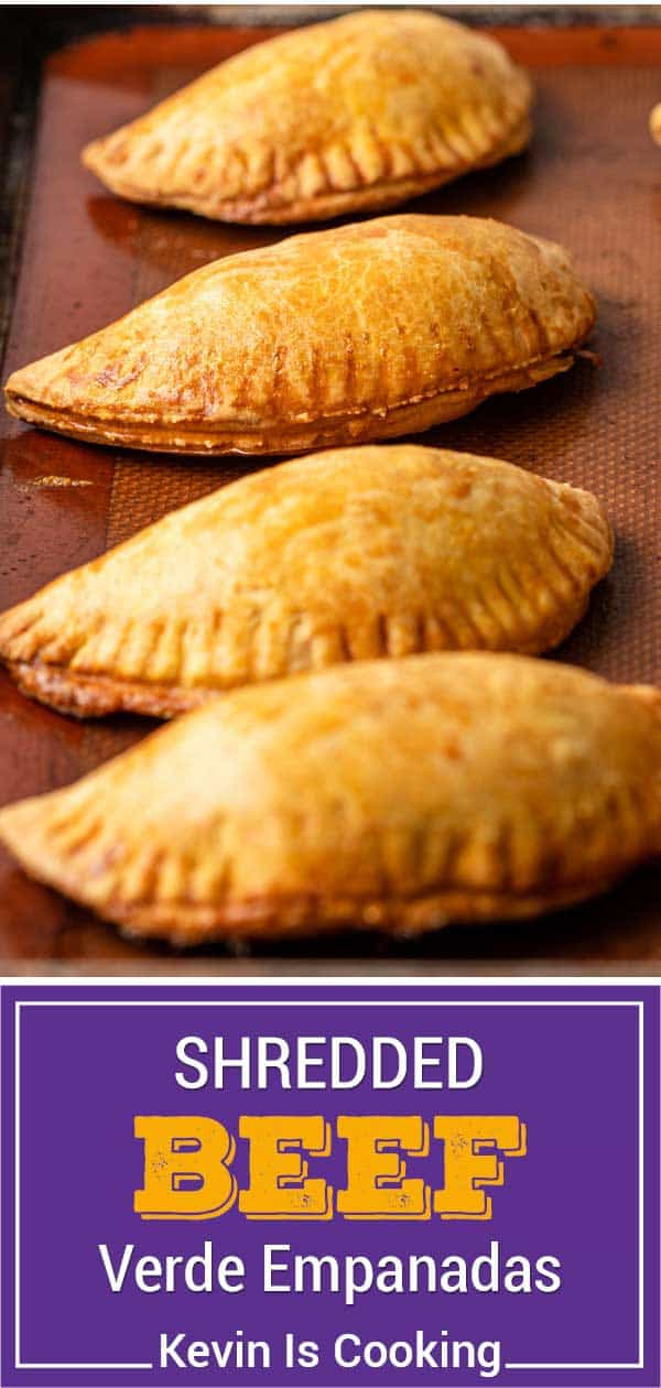 titled image shows 4 baked empanadas