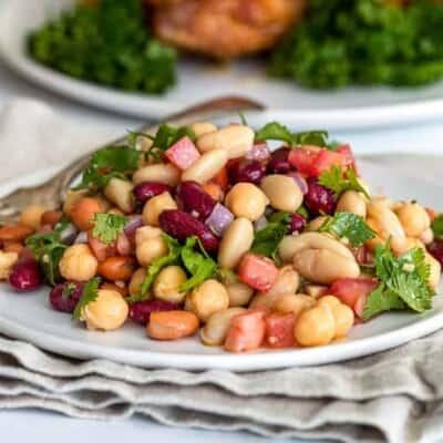 Zesty 4 Bean Salad