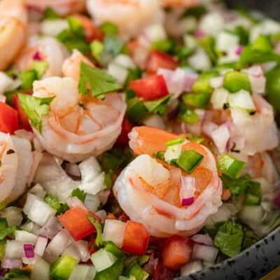 Shrimp Ceviche (Ceviche de Camarón)