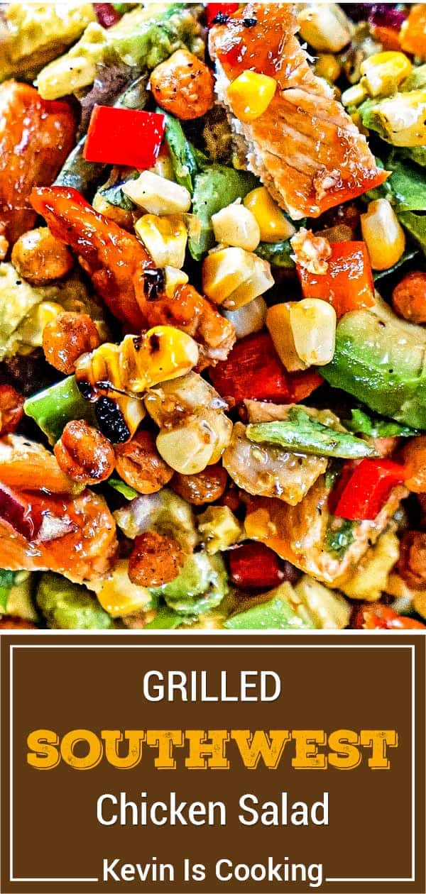 titled image (and shown): southwest chicken salad