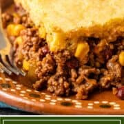 titled image (and shown): Easy Tamale Casserole - Kevin is Cooking