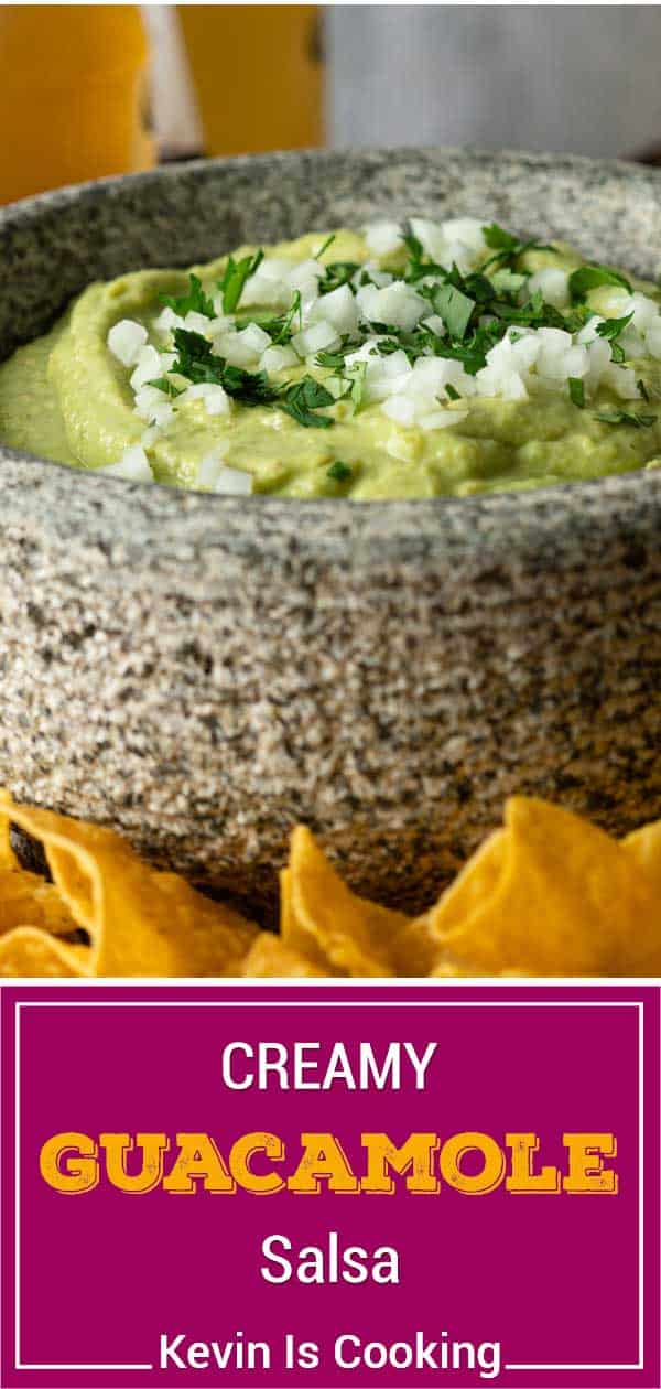 titled image: bowl of guacamole salsa and tortilla chips