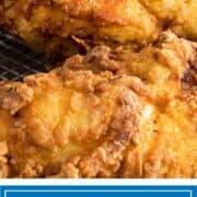 southern fried chicken in basket